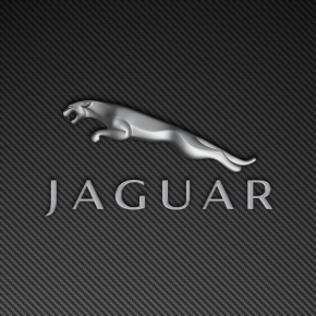 Jaguar Leaper Logo Carbon Fiber Wallpaper 1440x900