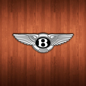 Bentley Logo Wooden Planks 1440x900 Wallpaper