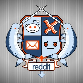 Reddit Coat Of Arms Logo Widescreen Wallpaper