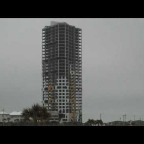 Ocean Towers on South Padre Island Goes Boom!