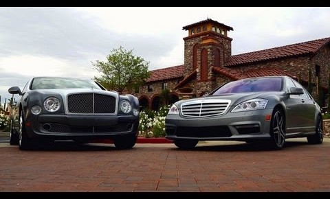 Mercedes Benz S65 AMG Vs. Bentley Mulsanne