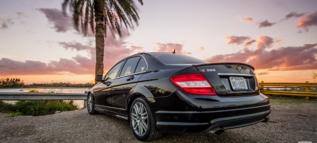 Mercedes Benz C300 1920x1080 HD Wallpaper